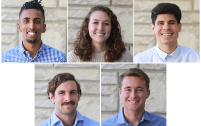 Welcome to our 2020 Interns!